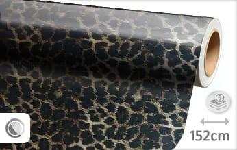 Luipaard print wrap vinyl