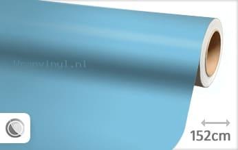 Mat babyblauw wrap vinyl