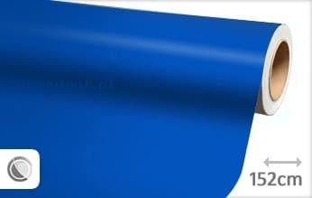 Mat blauw wrap vinyl
