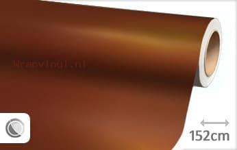 Mat chroom koper wrap vinyl