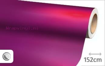 Mat chroom fuchsia wrap vinyl