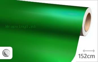 Mat chroom groen wrap vinyl