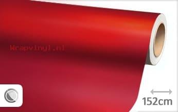 Mat chroom rood wrap vinyl