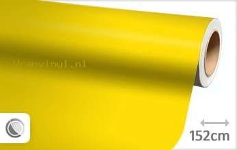 Mat geel wrap vinyl
