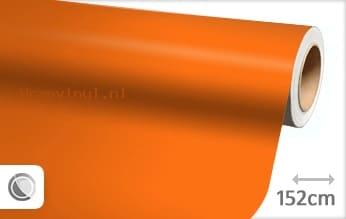 Mat oranje wrap vinyl