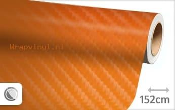 Oranje 4D carbon wrap vinyl